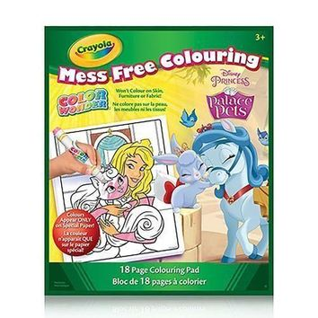 Crayola Color Wonder Book Disney Princess Palace Pets
