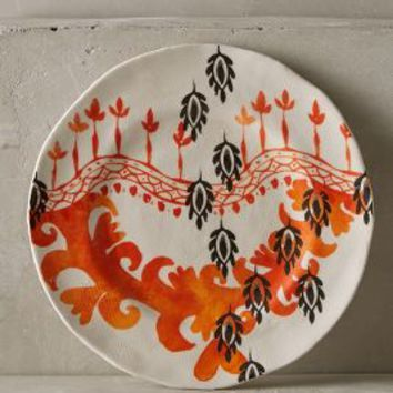 Sun Grove Side Plate by Anthropologie in Suzani Size: Side Plate Dinnerware