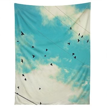 Shannon Clark Blue Skies Ahead Tapestry