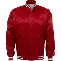 Blank Baseball Bomber in Red: This Mom Means Business!