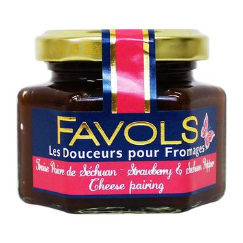 Favols Strawberry and Sichuan Pepper Cheese Pairing, 3.8 oz (110 g)