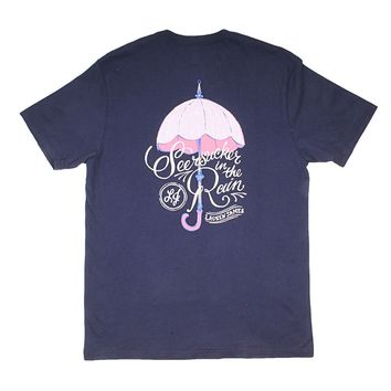 Seersucker In The Rain Tee by Lauren James