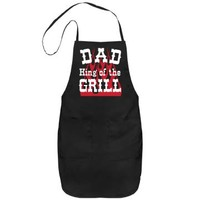 Dad King of the Grill BBQ: Cute Comfy Designs