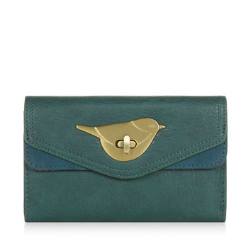 Chester Chubby Bird Wallet | Green | Accessorize