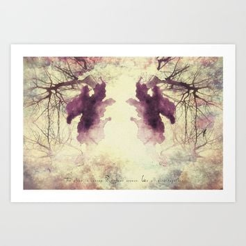 THE EYE Art Print by TreeomStudio