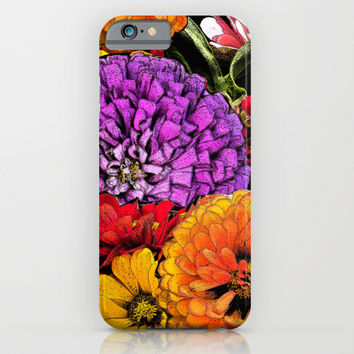 Power Flowers iPhone & iPod Case by Shu | Formanuova
