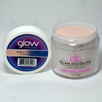 Glam and Glits GLOW ACRYLIC Glow in the Dark Nail Powder 2006 - CON-STYLE-ATION
