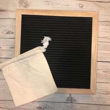 10x10 Felt Letter Board w/ 2 bonus items