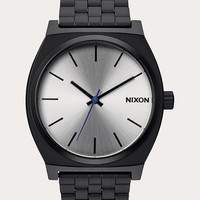 Nixon Time Teller Watch Black/Silver One Size For Men 26470814501