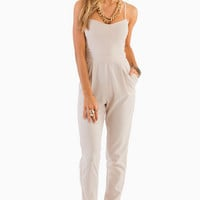 Strappy Sweetheart Jumpsuit $47