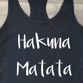 Hakuna Matata / T-shirt, Tank Top, Sweatshirt, Hoodie / The Lion King / Disney Shirts / Simba / Roar / No worries / Disney shirts