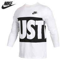 Original New Arrival 2018 NIKE  Men's T-shirts Long sleeve Sportswear