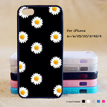 Little Daisy Phone Case For iPhone 6 Plus For iPhone 6 For iPhone 5/5S For iPhone 4/4S For iPhone 5C iPhone X 8 8 Plus