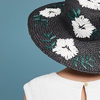 Punta Cana Embroidered Sun Hat