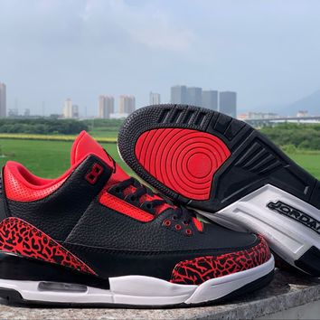 Air Jordan 3 Black/Red