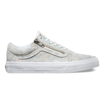 Marble Suede Old Skool Zip  12dd4fab8581