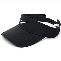 "Hot Sale ""Nike"" Summer Outdoor Sport Hat Baseball Sun Hat Tennis Cap Black I12424-1"