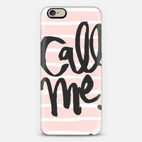 call me iPhone 6 case by Ike Studio | Casetify