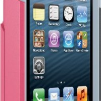 OtterBox COMMUTER WALLET SERIES Case for iPhone 5/5s/SE - Retail Packaging - PRIMROSE (BLAZE PINK/POWDER GREY)