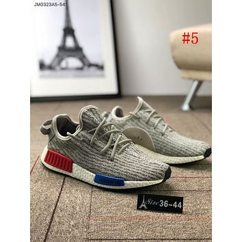 Adidas NMD R1 Boost Fashionable Unisex Red Blue Logo Sport Running Shoe Sneakers #5 I-AA-SDDSL-KHZHXMKH