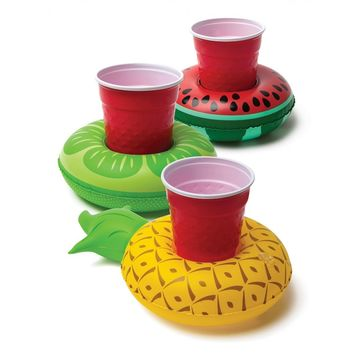 Tropical Fruit Beverage Boats 3-Pack