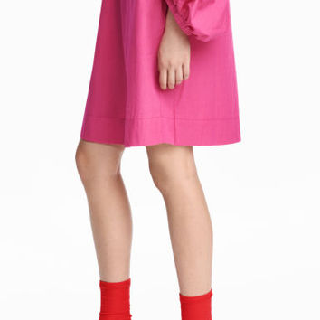 Sock-style court shoes - Bright red - Ladies | H&M GB