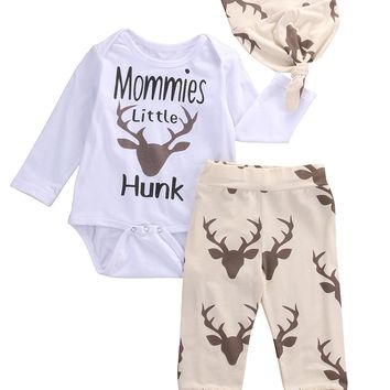 Baby Deer clothing sets Newborn Toddler