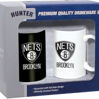 Hunter 2 Pack Coffee Mug - Brooklyn Nets