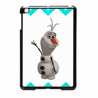 Olaf Disney Frozen Blue Chevron iPad Mini 2 Case