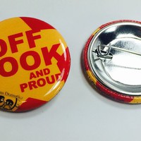 Off Book & Proud - Button 10 Pack