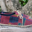 Matt - Mens Oxford Shoes In Colorful Tribal Naga Textiles