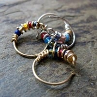 Bejeweled nose ring