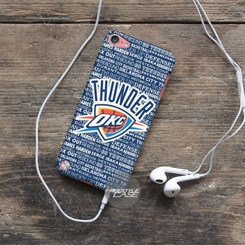 Best Oklahoma City Thunder Logo Art iPod Case Cover Series