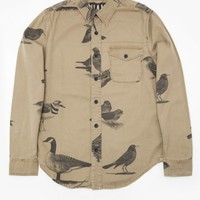 Han Kjobenhavn / Bird Shirt In Tan