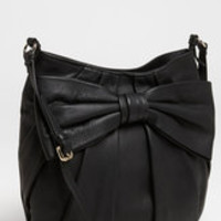 Red Valentino Black Bow Small Leather Crossbody Bag