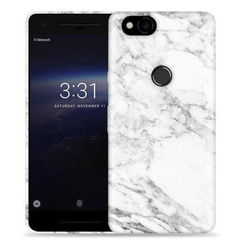 Google Pixel 2 Case - Pixel 2 Case #Marble Cool Design Hard Phone Cover