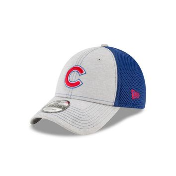 Mens Chicago Cubs Shadow Turn 2 Adjustable Hat By New Era