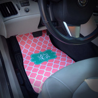 Car Mats Monogrammed Gift Ideas Car Accessories Car Mat Personalized Car Mats Monogrammed Car Mats Front Set