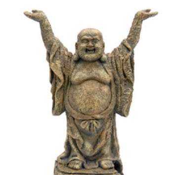Standing Buddha Ornament Deco Replica