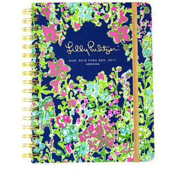 Lilly Pulitzer Large 17 Month Agenda