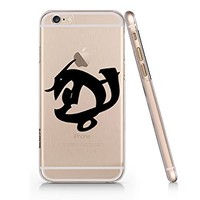 Shadowhunter Runes Courage In Combat Clear Transparent Plastic Phone Case Phone Cover for Iphone 6 6s_ SUPERTRAMPshop (iphone 6)