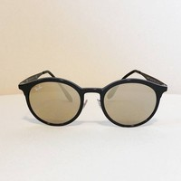 RAYBAN Erika Sunglasses - Black and Mirrored