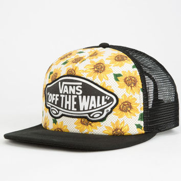 Vans Beach Girl Womens Trucker Hat White One Size For Women 25089215001