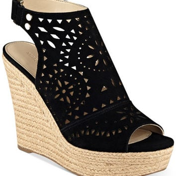 Marc Fisher Harlea Platform Wedge Sandals - Sandals - Shoes - Macy's
