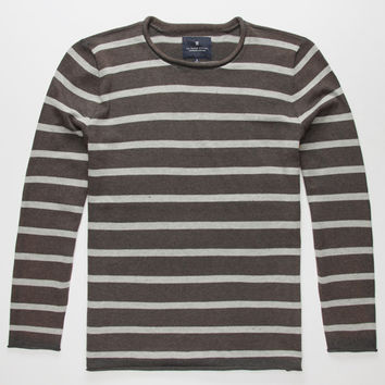 Roark Well Worn Mens Sweater Heather Gray  In Sizes