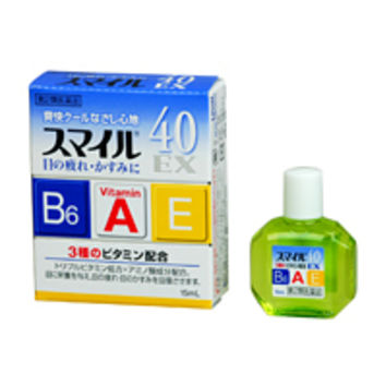 LION SMILE 40EX Vitamin Eye Drops