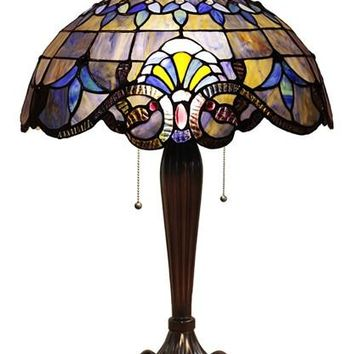 Distinctive Victorian Table Lamp by Chloe Lighting