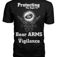 Protecting The Right To Bear Arms Tshirt