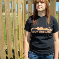 New Orleans Bleached T-shirt