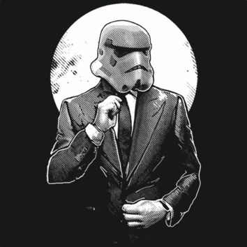 Storm Trooper Businessman